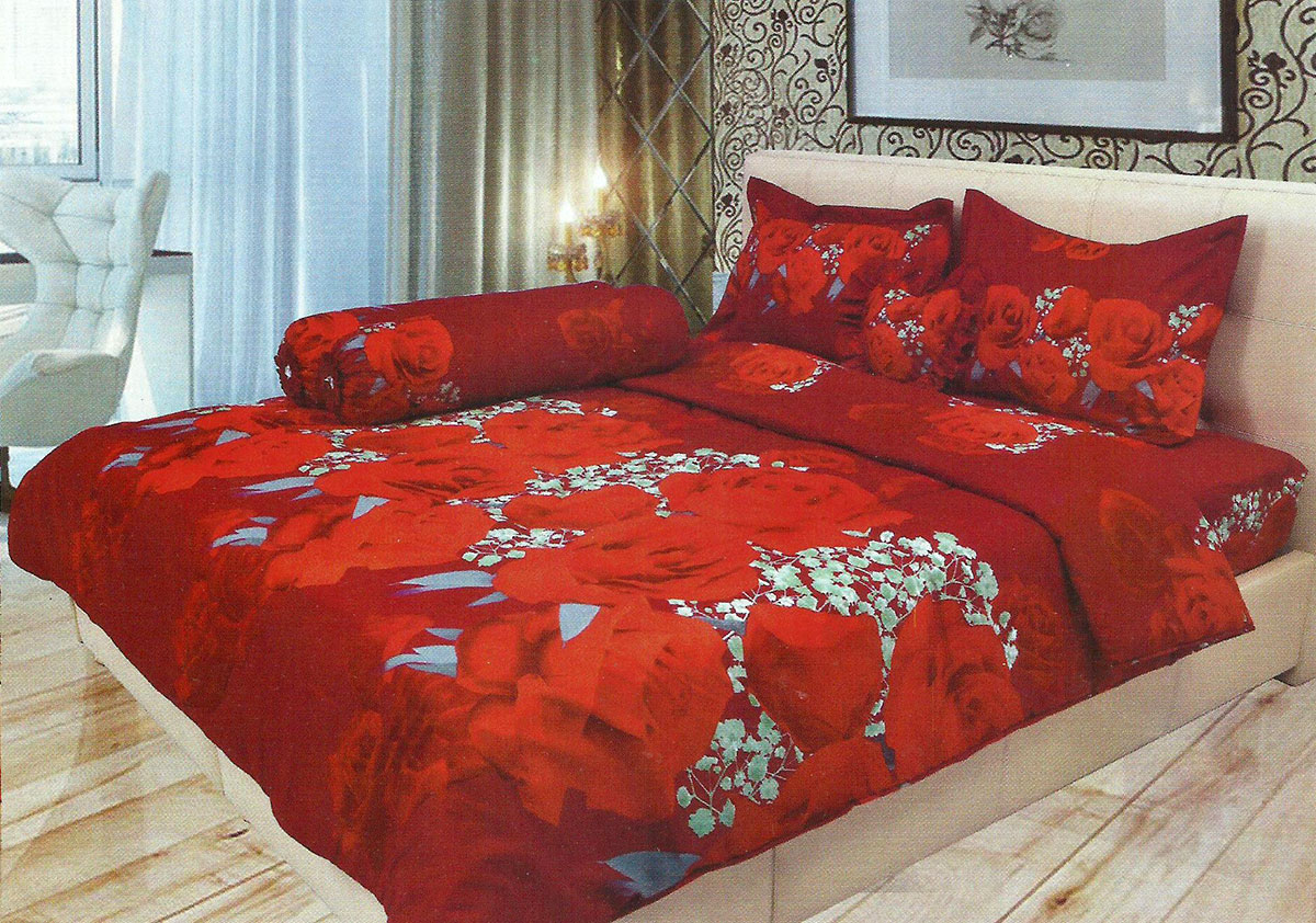 Buy Sprei lady rose disperse queen size Deals for only Rp116.000 instead of Rp116.000