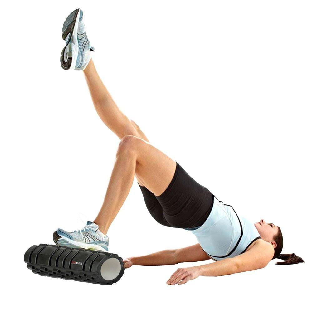 Buy yoga foam roller massage trigger point pilates gym
