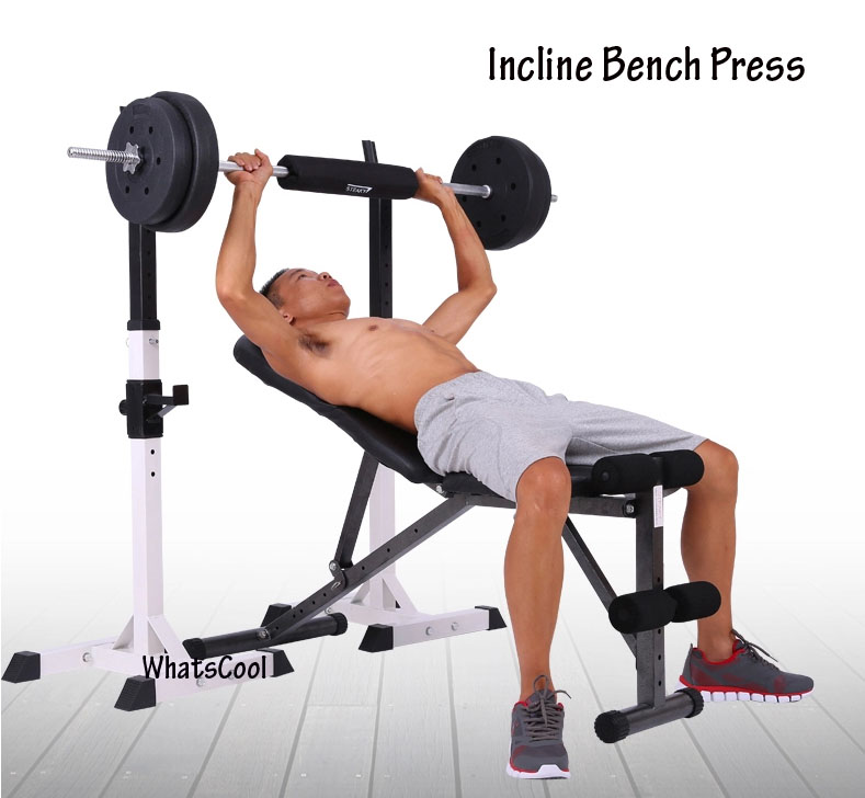 Buy sit up incline decline work bench situp dumbbell bar sit up pull yoga sport equipment - Incline and decline bench press ...