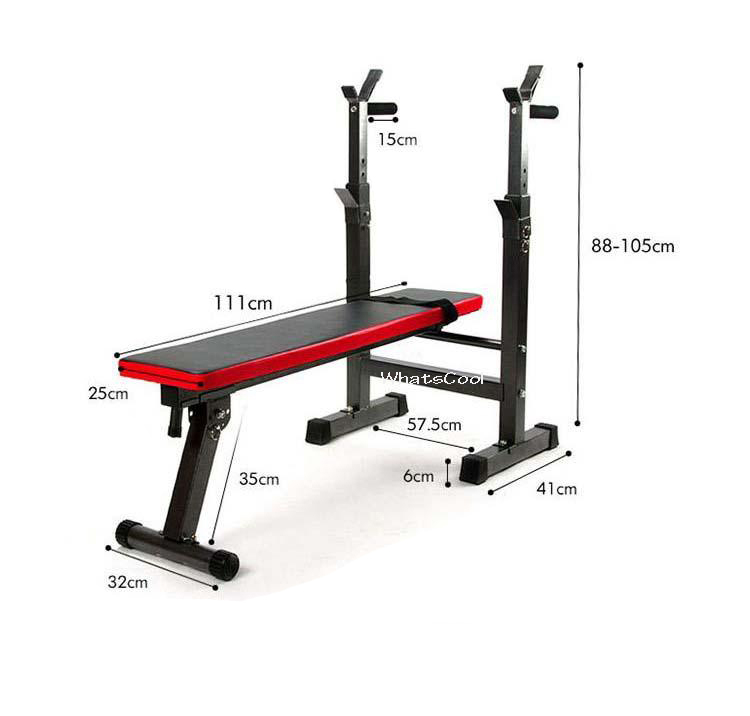 Buy Sit Up Bench Abs Training Ab Rollers Pull Spring: Buy Sit Up Bench Foldable Barbell Workout Bench Abs