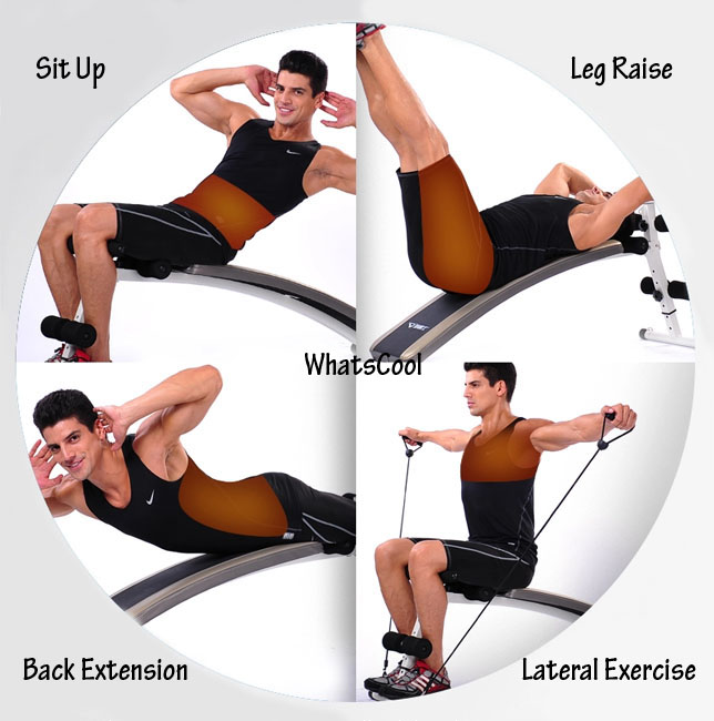 Balance Ball Sit Ups: Buy Sit Up Incline Decline Work Bench Situp Dumbbell Bar