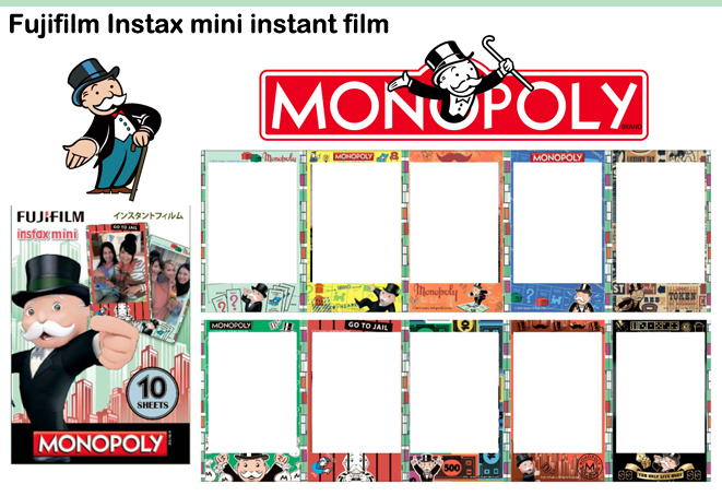 Monopoly Instax Mini Film