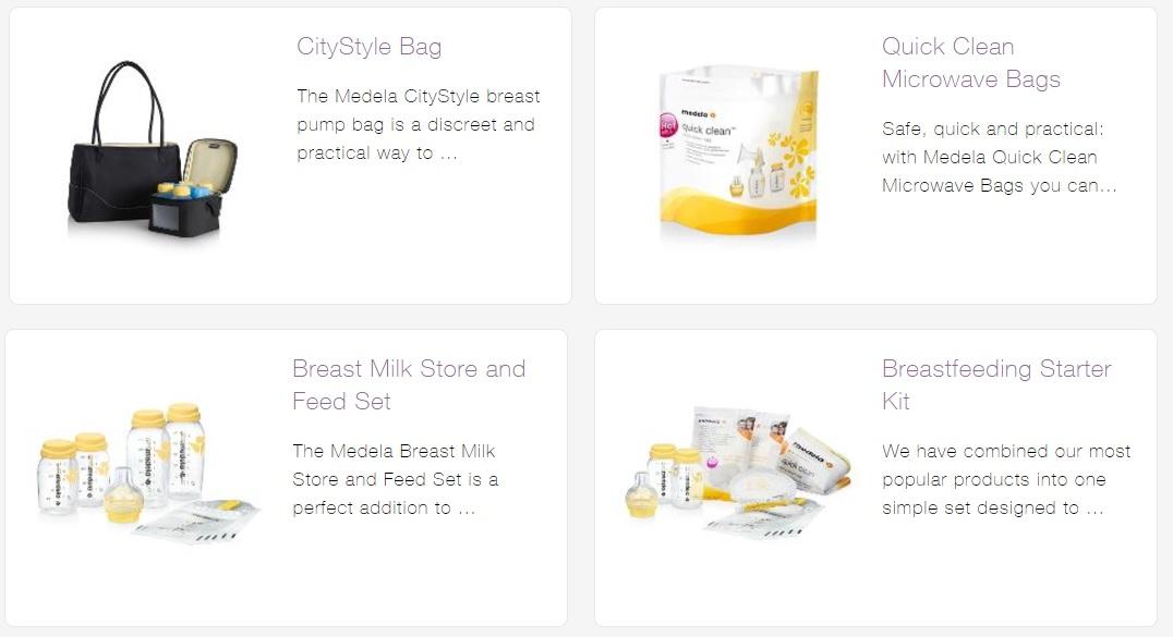 Medela Breastfeeding Accessories Quickclean Microwave Bags Baby Gallery