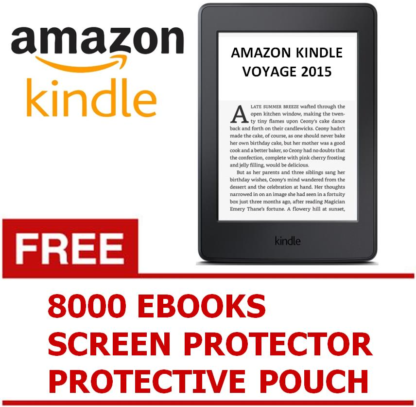 buy amazon kindle 2016 free 8000 ebooks pouch screen