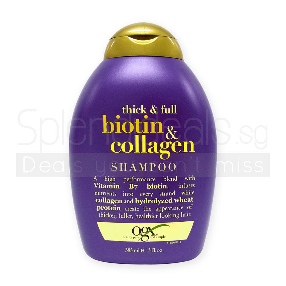 Buy Organix Biotin Collagen/Repairing Awapuhi Ginger ...