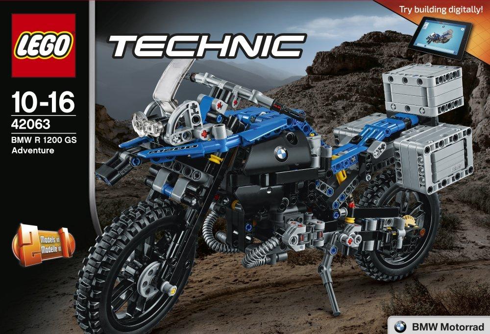 lego technic 42063 bmw r 1200 gs adventure | 11street malaysia