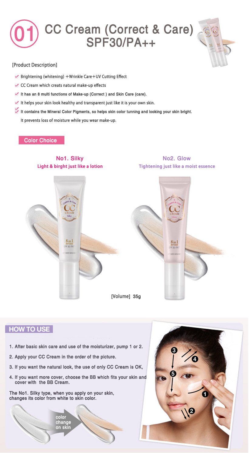 Qoo10 Global Fashion Trend Leading Shopping Etude House Cc Cream Bb Blooming Fit Spf30 Pa 60g