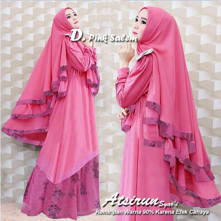 Busana muslim - baju gamis - baju muslim - Hijab set   gamis syari new model cebba5e893