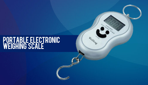 Portable Smiley Weighing Scale