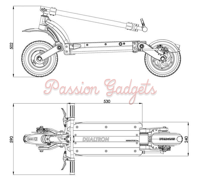Buy New Dualtron Electric Scooter By Minimotors Foldable