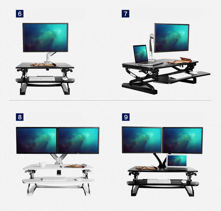 Buy Ergonomic Standing Desk Height Adjustable Easy