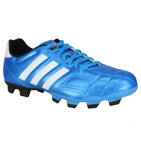 """ca5d21cccf ... lightweight comfort while a TRAXION"""" FG outsole provides lightning fast  acceleration and  Chuteira Society adidas 11 Questra ..."""
