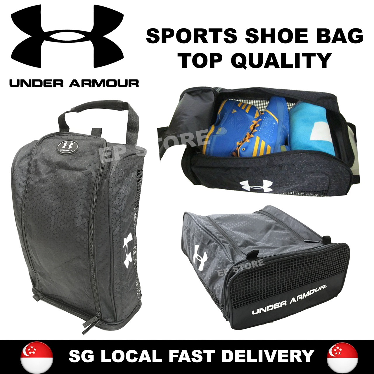 Buy Sports Duffle Bag With Shoe Pouch