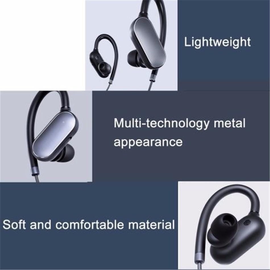 Every Need Want Day Xiaomi Original Mi Sport Bluetooth Wireless Headset Earphone Headphone Sports With Mic Handsfree 41 Music Earbud Waterproof Sweatproof Running Stereo