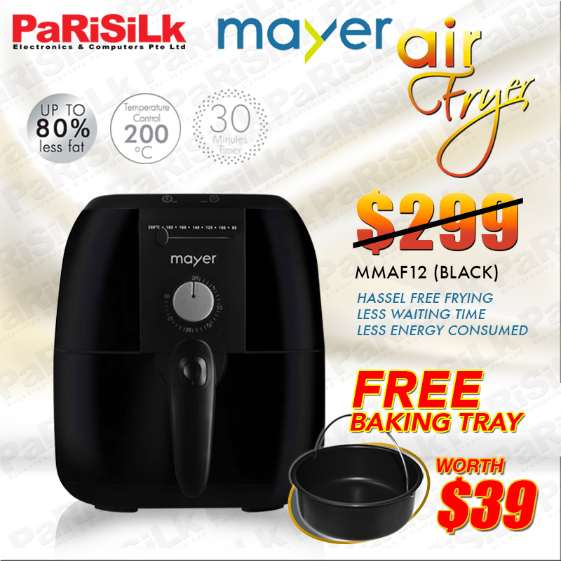 how to use mayer air fryer