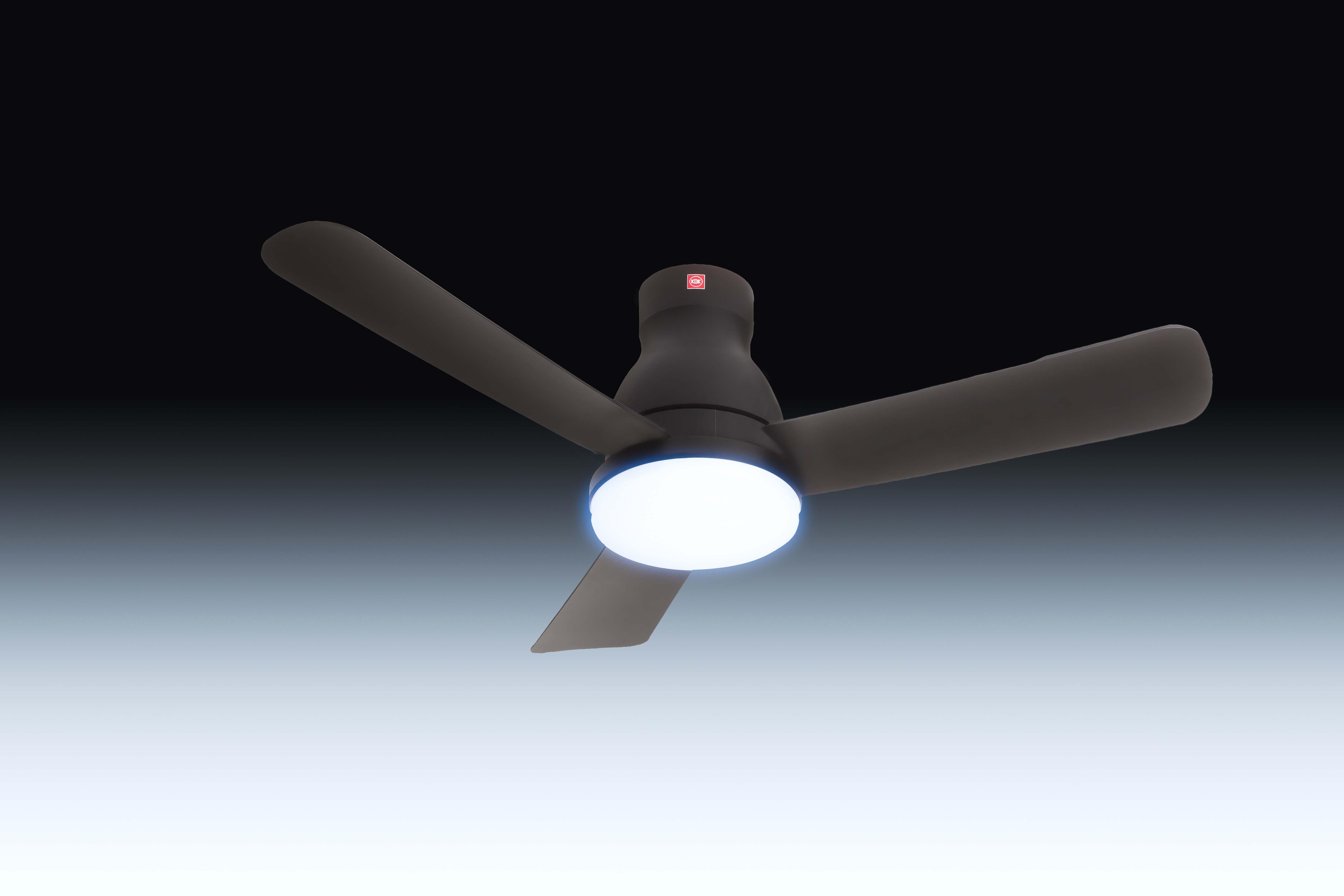 Buy Kdk U48fp 120cm Ceiling Fan With Light Dc Motor Remote