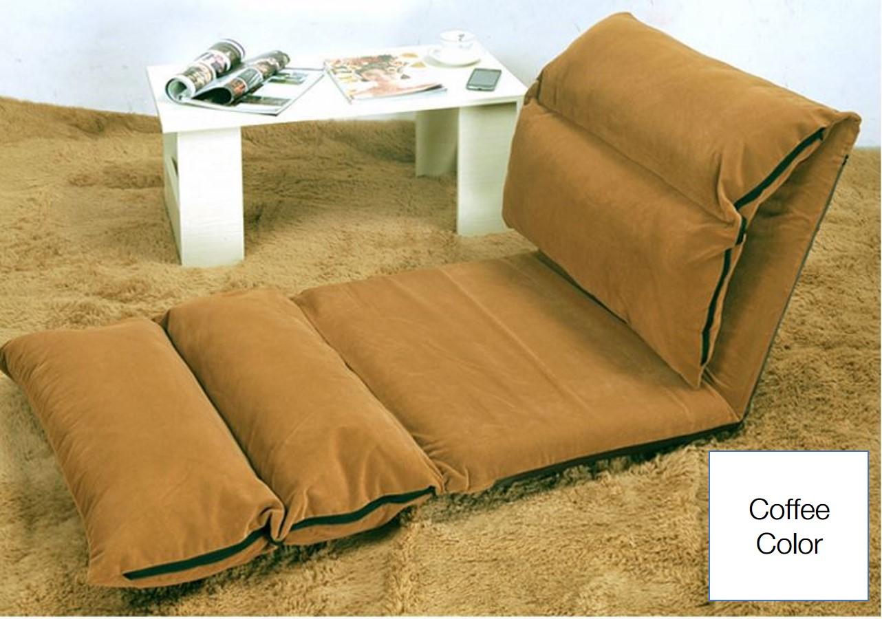 Buy multifold lazy sofa adjustable foldable lazy sofa for Buy floor sofa