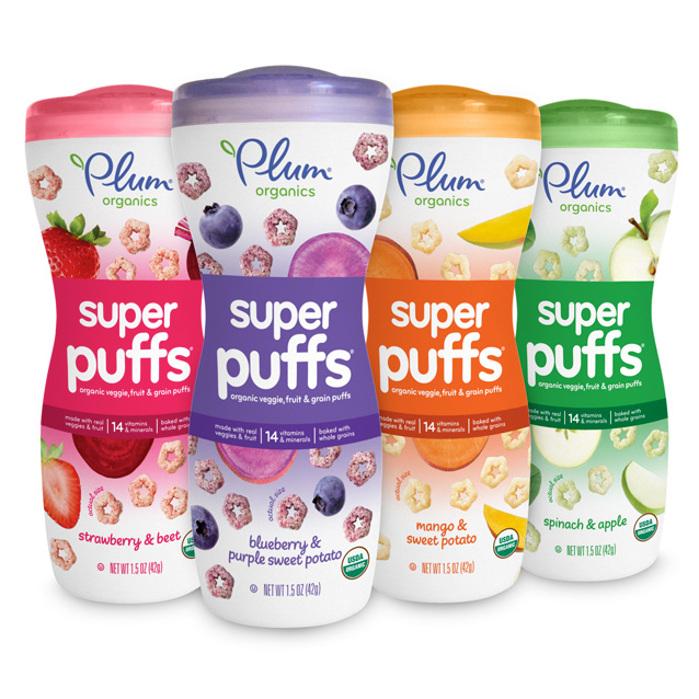 Buy Plum Organic Super Puffs Snacks For Baby Toddler