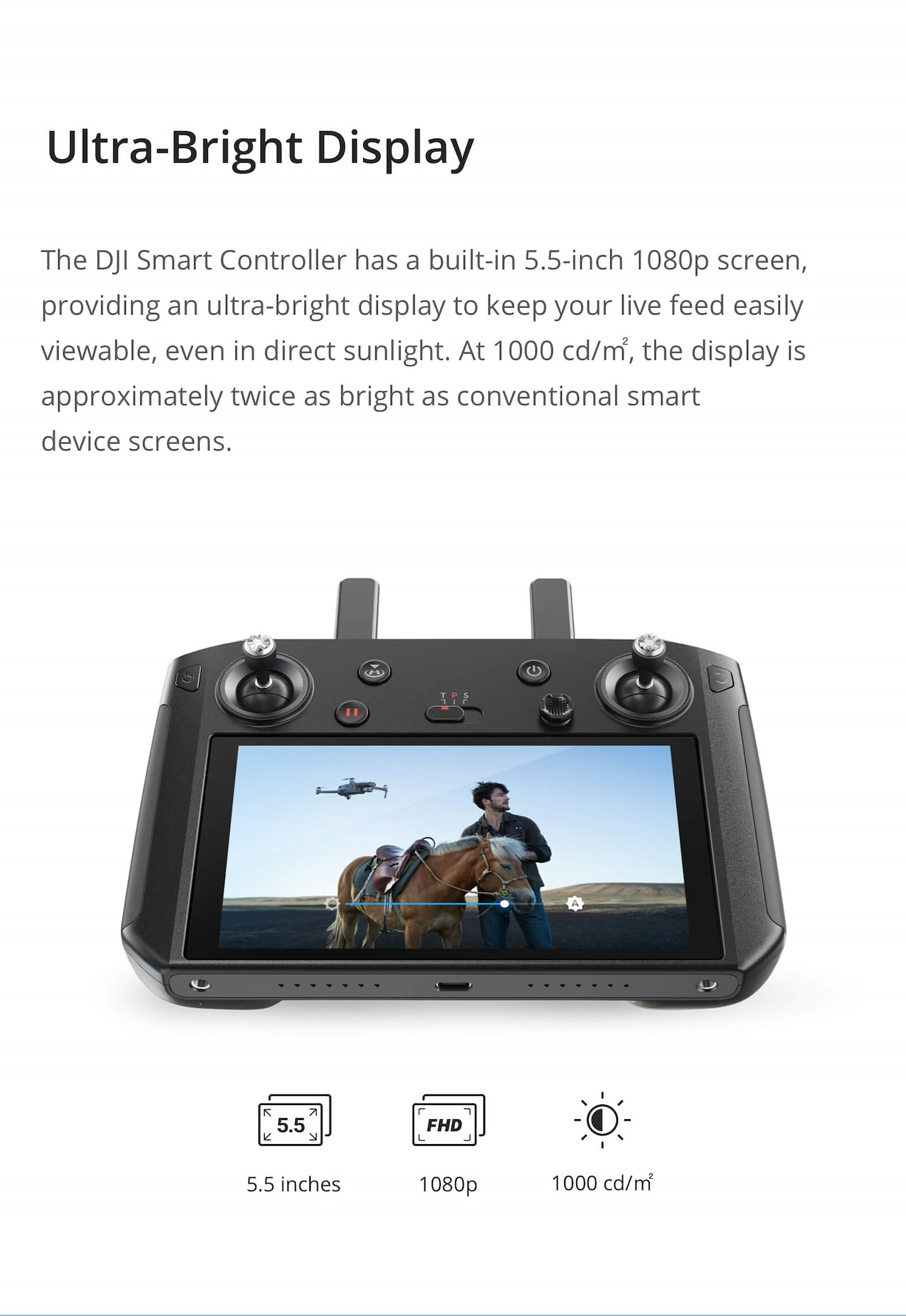Buy DJI Smart Controller Deals for only S$1099 instead of S$1099