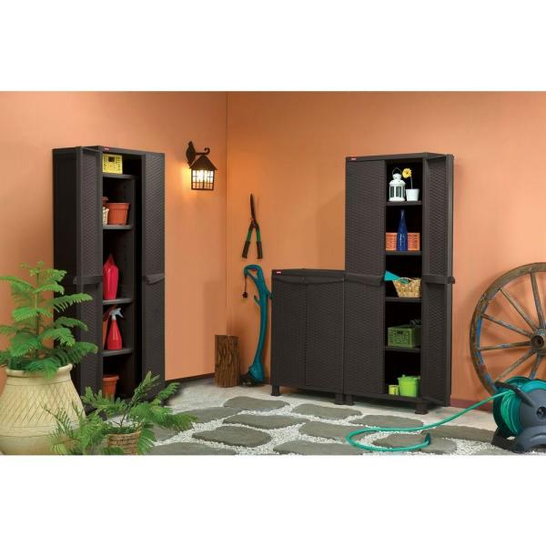 Buy KETER Rattan Style Plastic Storage Cabinet / Utility ...