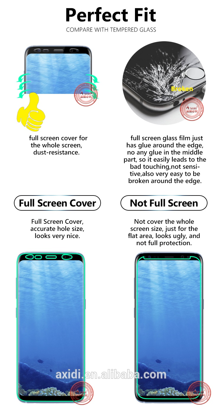 Buy Case Friendly*Full Cover Tempered Glass/Case*Samsung Galaxy S9/S9+ Note  8/5 S8 S8+Iphone 8/8+ Deals for only S$37 instead of S$0