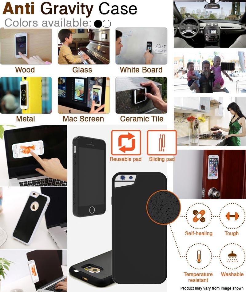 buy selfie mobile case anti gravity case 3 in 1 camera mobile lens monopod bluetooth. Black Bedroom Furniture Sets. Home Design Ideas