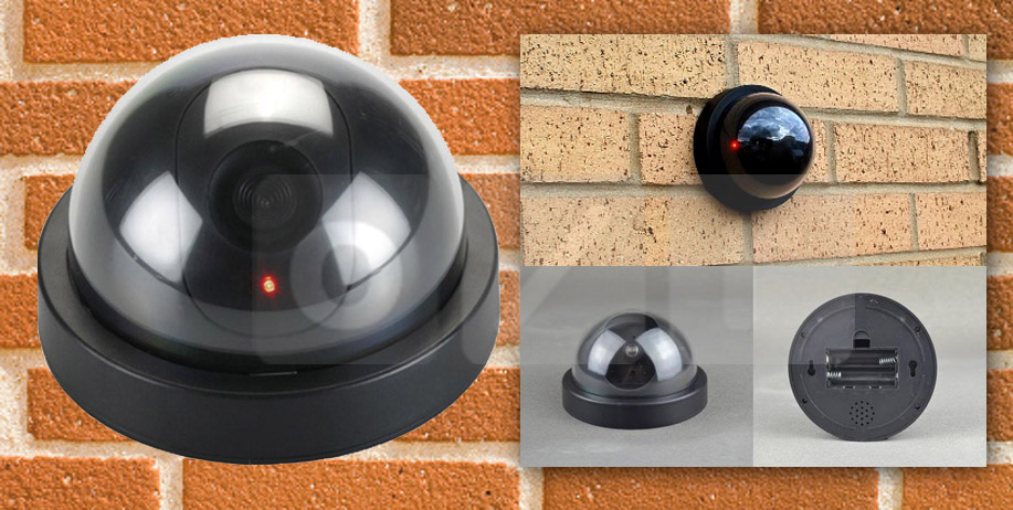 Buy Dummy CCTV / Replika / Fake CCTV Security Camera / Kamera Simulasi CCTV Deals for only Rp45.000 instead of Rp50.000
