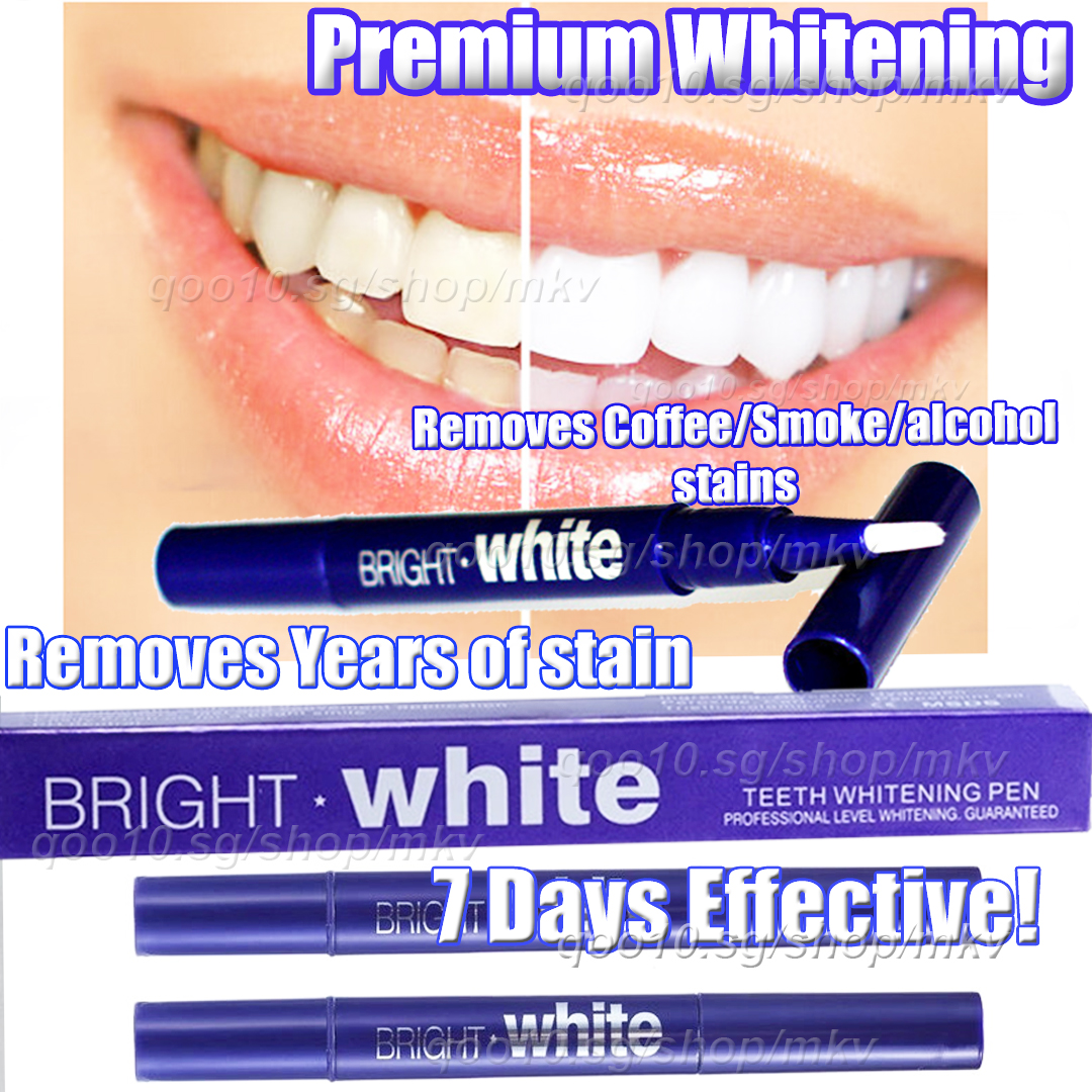Buy Bright White Teeth Whitening Pen Deals For Only S 19 9