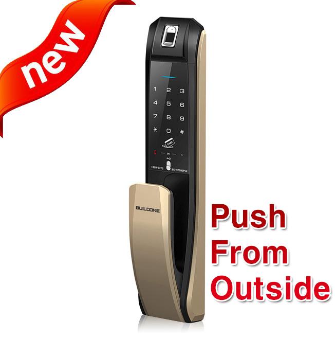 ★push From Outside★ New Fingerprint Push Pull Digital