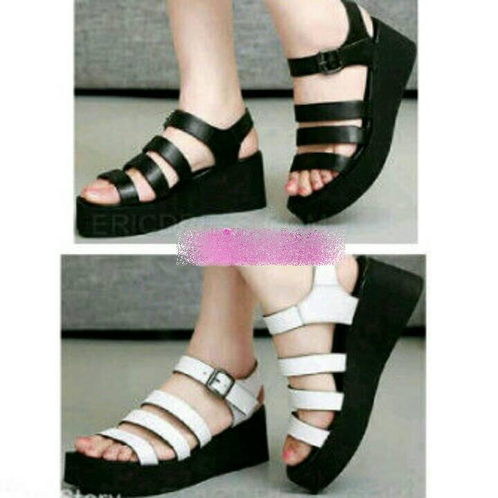 Buy Sepatu Wedges Wanita Bahan Kulit Sintetis Elegan Deals for only  Rp79.170 instead of Rp83.500 2d4fa46ac5