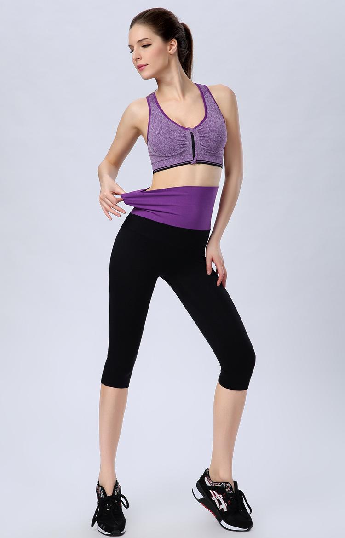 Buy Shoppinglife 2016 Women Compression Sports Yoga Pants Sexy Sports Bra Running Fitness Yoga