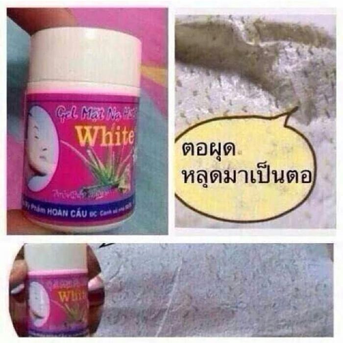 GEL MAT NA HUT MUN WHITE ORIGINAL