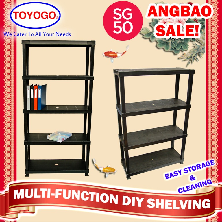 Buy shelve sg50 angbao sale toyogo deals for only s 38 for Diy shelves philippines