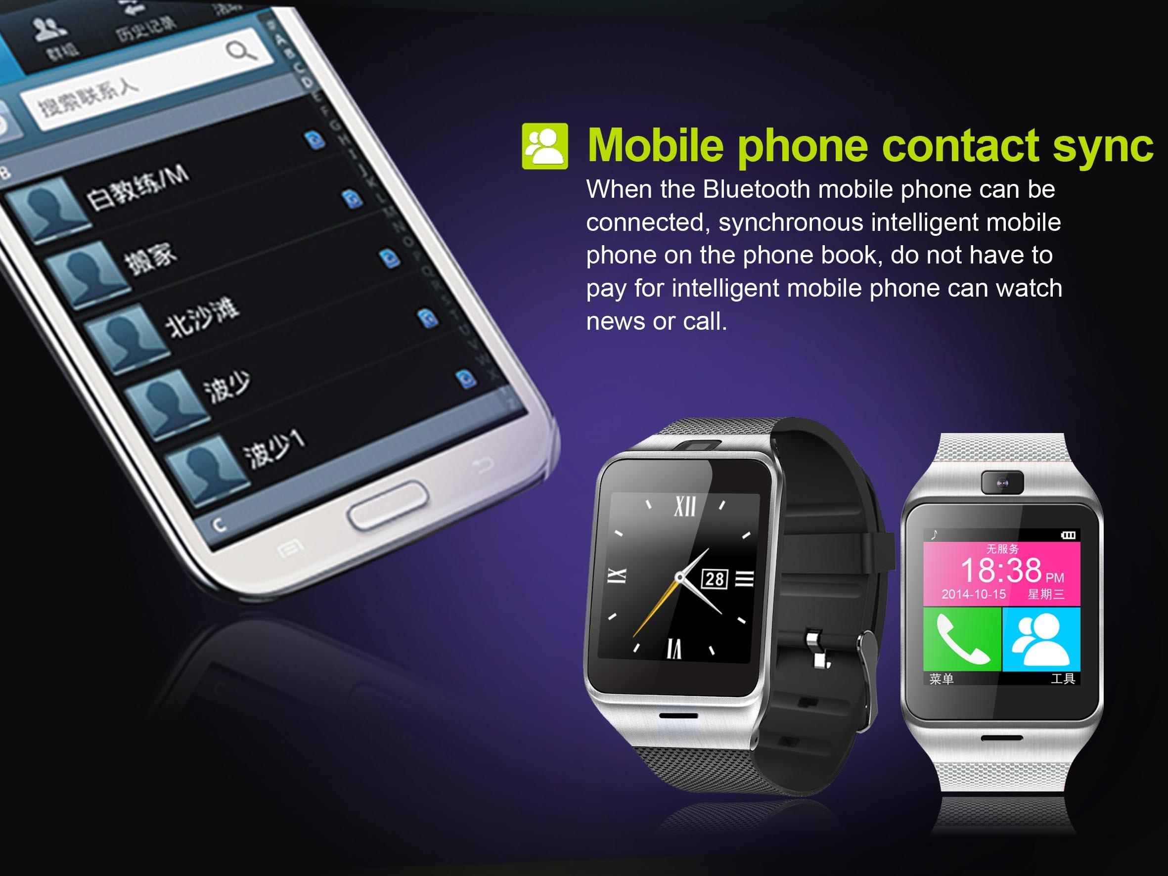 Buy Smartwatch Aplus Gv18 Bluetooth Touchscreen Sim Card