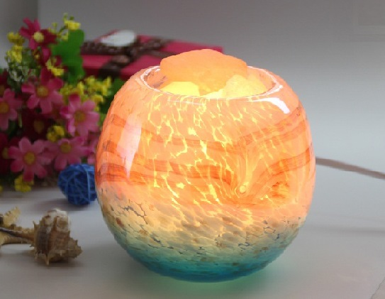 Authentic himalayan salt lamp in crystal glass lazada for Authentic salt lamp