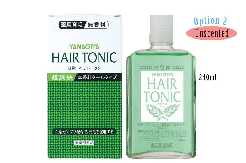 Buy Japan Yanagiya Hair Tonic 240ml Deals For Only S 26 9