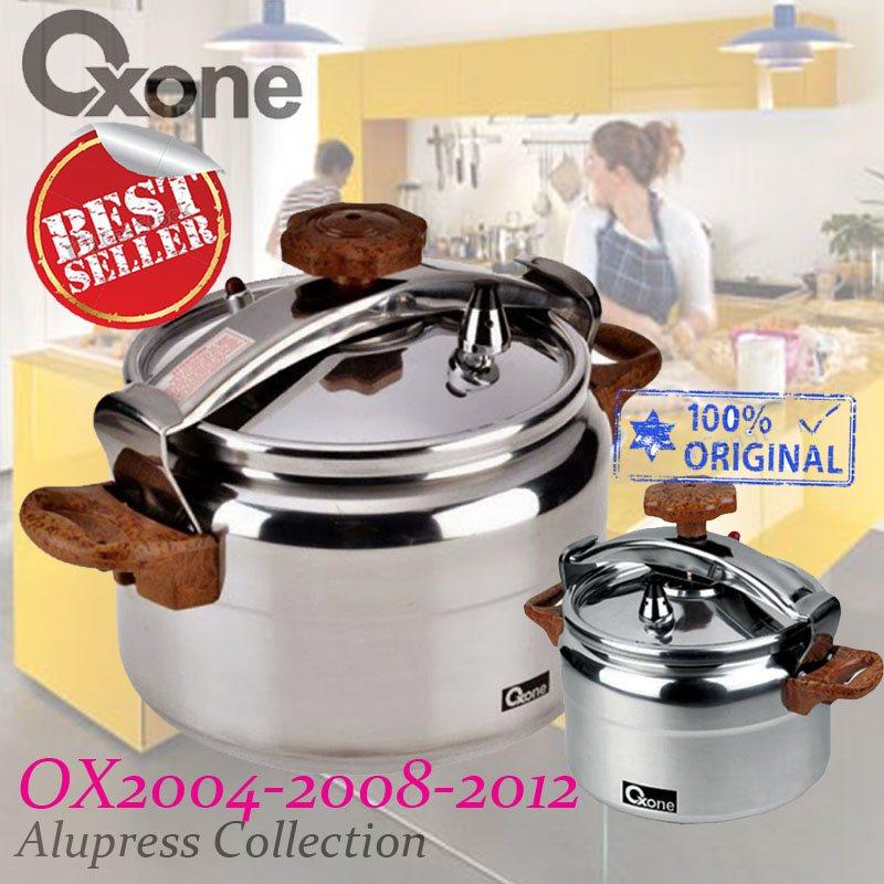 Highlights. Deskripsi Produk Oxone Presto OX-2004. Apa yang ada di dalam kotak: Oxone Pressure Cooker Alupress 4 Liter ...