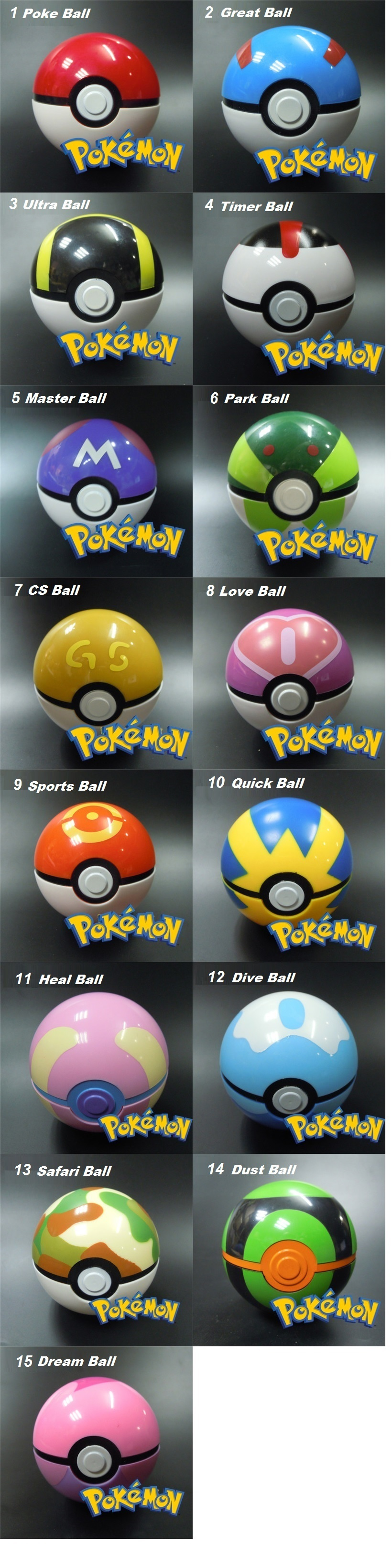 Free Pokemon Figure For Every Poke Ball Pokeball Stand Features Open The And Store Your Inside