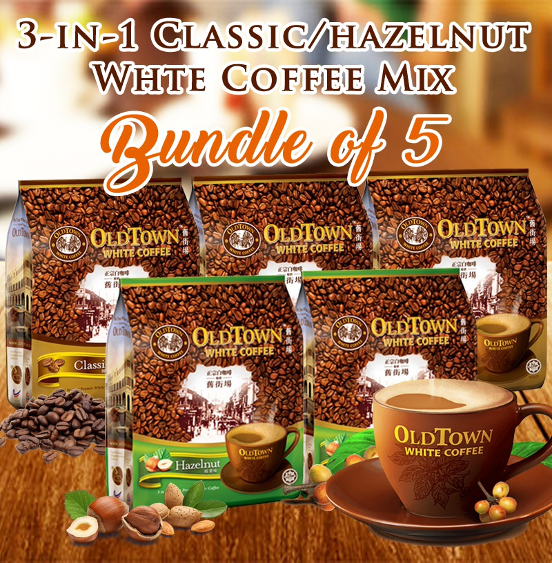 old town white coffee 3 in 1 price