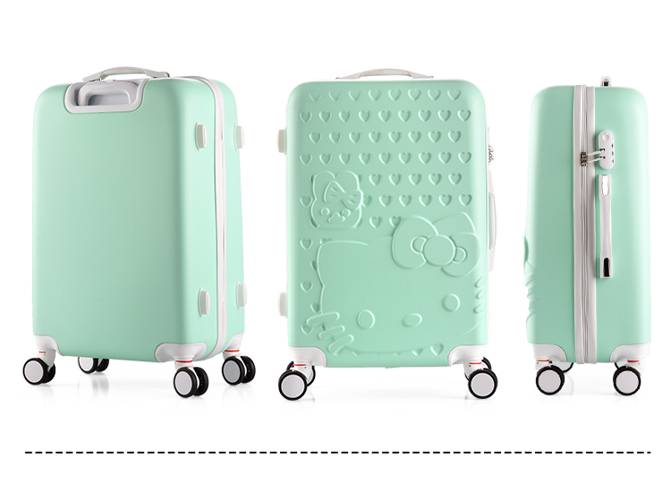 Buy Luxury Luggage Hello Kitty Diamond Concept Suitcase Luggage Deals For Only S 29 9 Instead