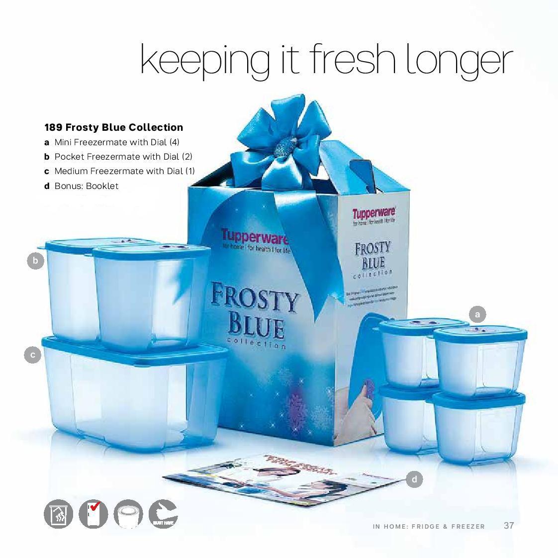 Ini adalah produk set berisi wadah penyimpanan lengkap khusus di freezer untuk menyimpan bahan masakan beku. Memiliki seal yang ketat dan higienis, ...