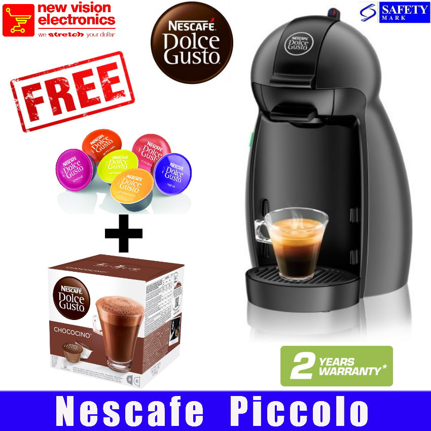 buy free box of dolce gusto capsules nescafe massive sale piccolo coffee machine available. Black Bedroom Furniture Sets. Home Design Ideas