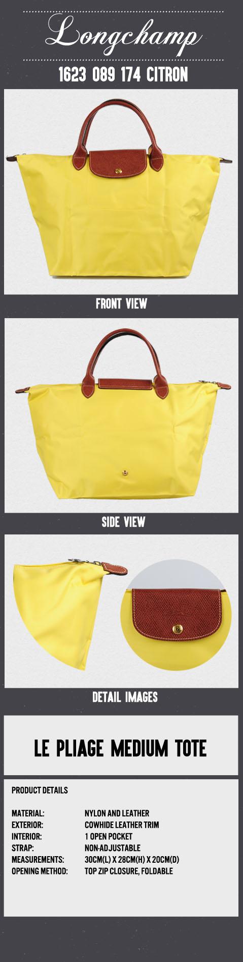 Buy Best Longchamp Jacquard Tote Bags 1621 510 001 Noir black