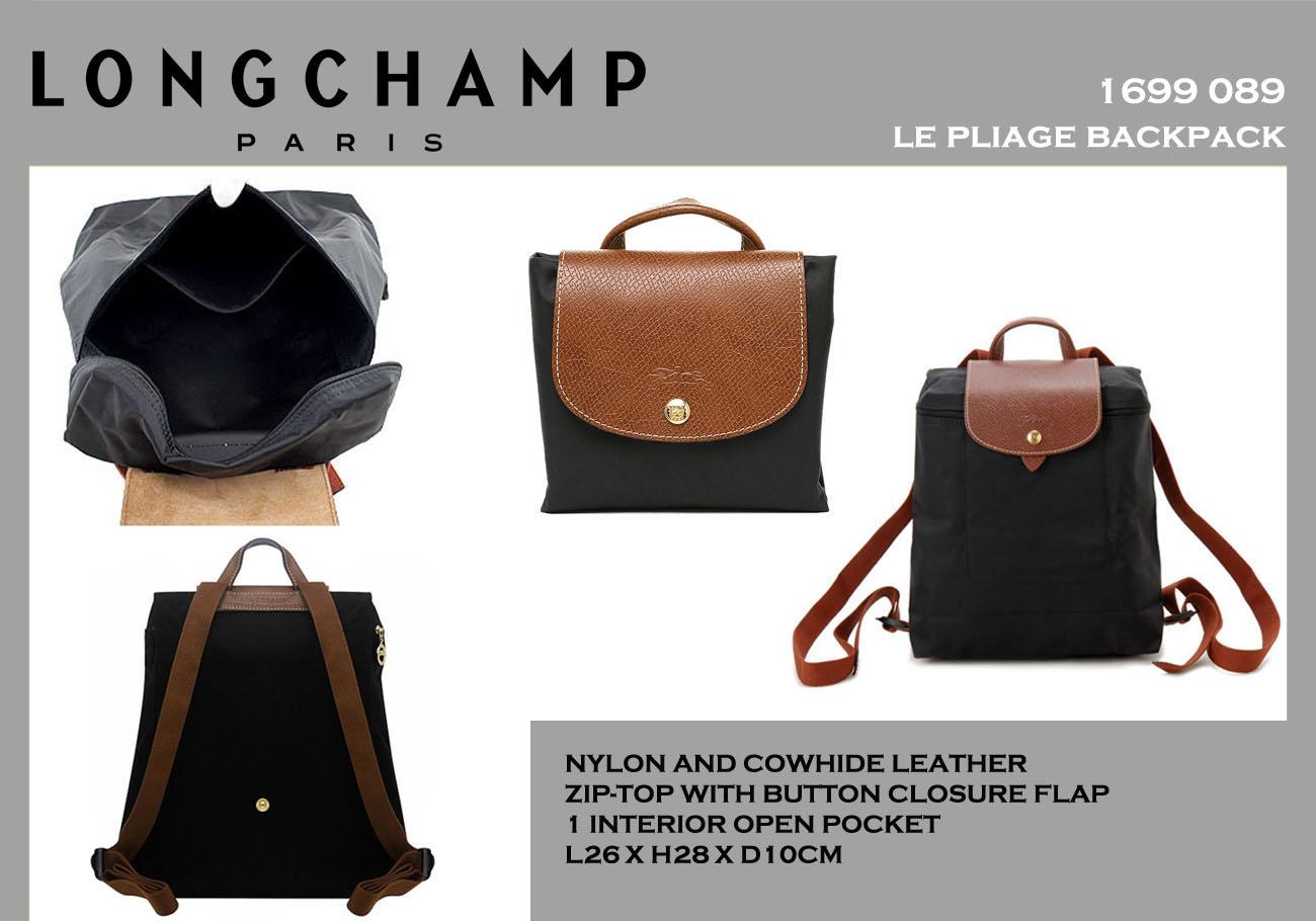 Limited Longchamp Le Pliage Tote Bags 1899 089 477 MANDARINE
