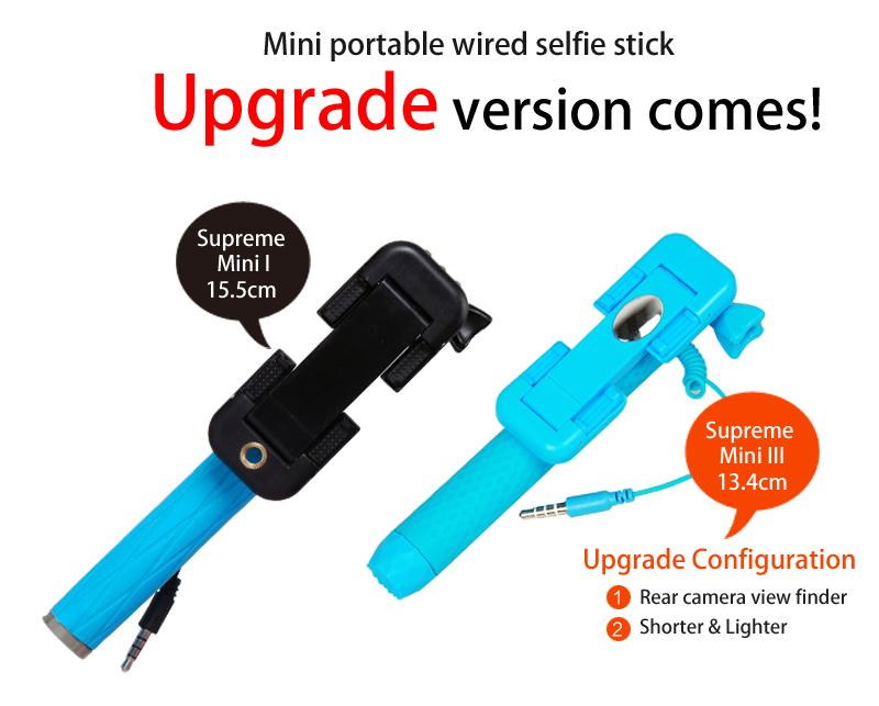 buy supreme mini selfie stick monopod pod with build in shutter deals for only s instead of. Black Bedroom Furniture Sets. Home Design Ideas