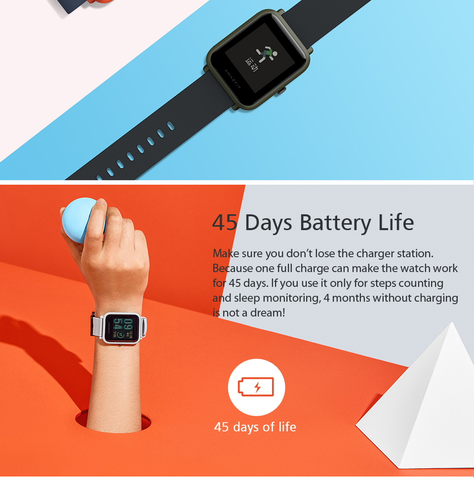 Buy Xiaomi Huami Amazfit Bip Youth Deals For Only S 199 Instead Of S 0