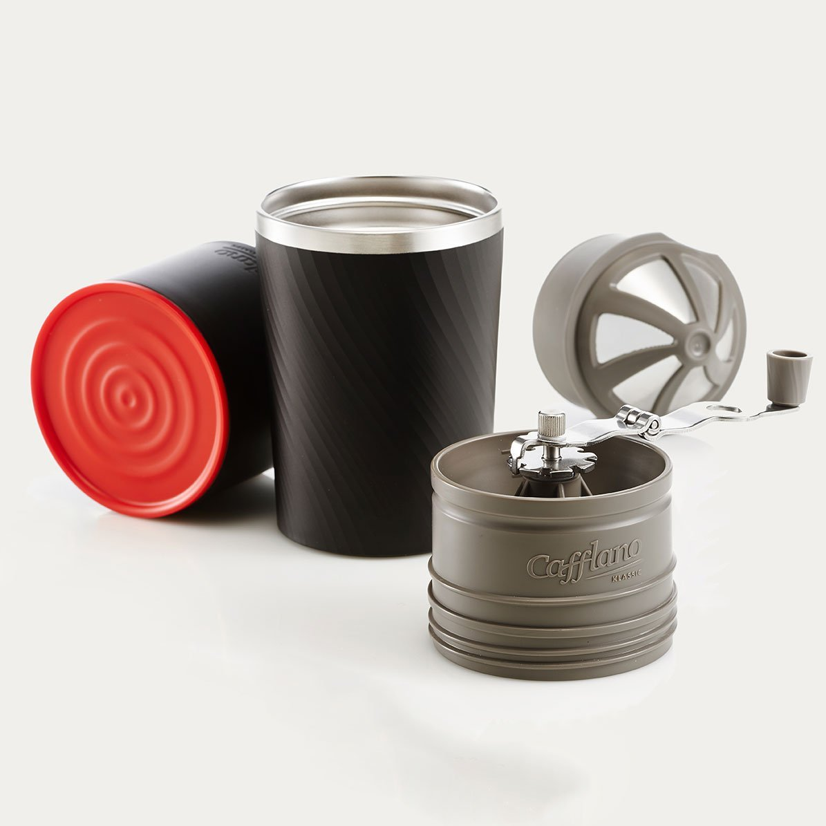 Cafflano Drip Coffee Maker Hand Mill Grinder Tumbler All-in-one dripper Korea eBay