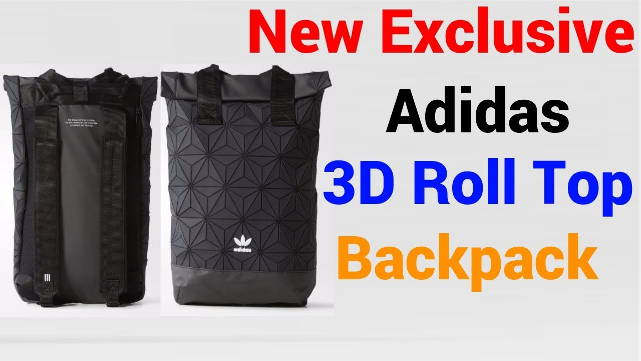 Adidas Issey Miyake 3D Roll Top Mesh Backpack(2018 EDITION)(Comes with  Single Original RECEIPT) You can see below video link for further info ceed81dfb9