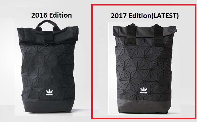 Adidas Issey Miyake 3D Roll Top Mesh Backpack(2017 EDITION)(Comes with  Single Original RECEIPT) You can see below video link for further info d5de57643a480