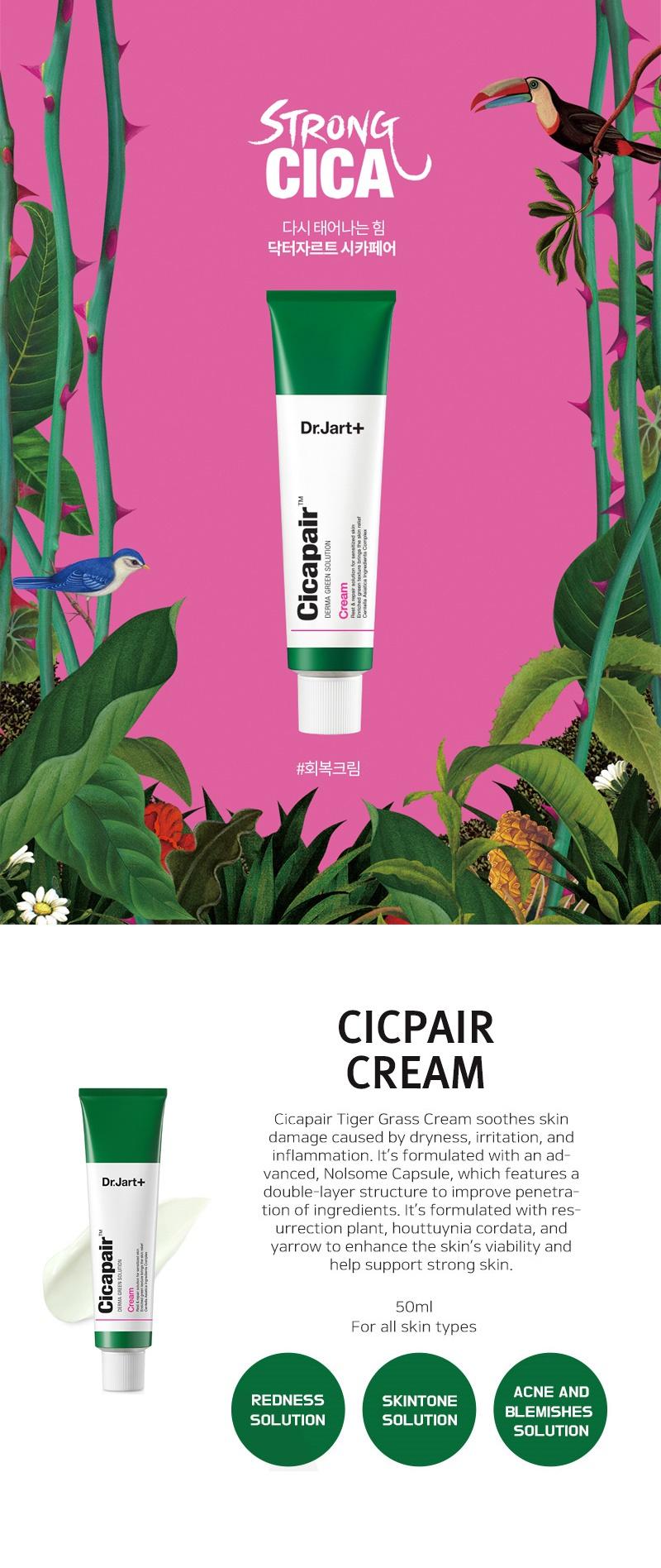Image result for DR JART+ Cicapair Cream 50ml